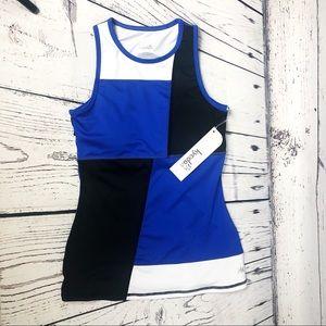 Kyodan Blue & Black Workout Tank Top